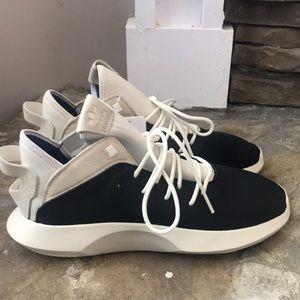 New* Adidas Crazy 1 ADV LEA Black/Cream Size 11
